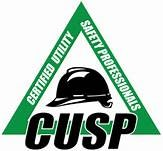 CUSP logo. CUSP stands for Certified Utility Safety Professional